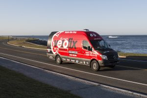 The Velofix Van (Photo courtesy of Marianne Lee)