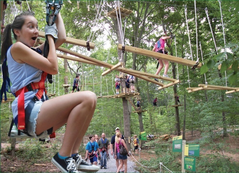 A Daytrip to Adventure Park at Heritage Museums & Gardens