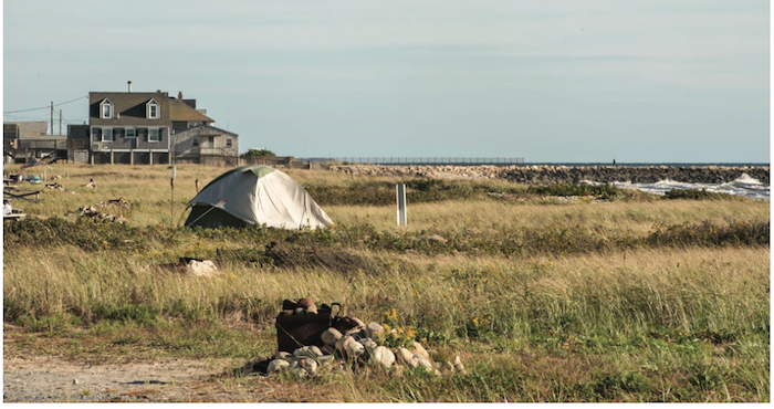 Horseneck Beach Camping by Andrew Ayer