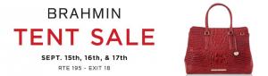 Brahmin Tent Sale