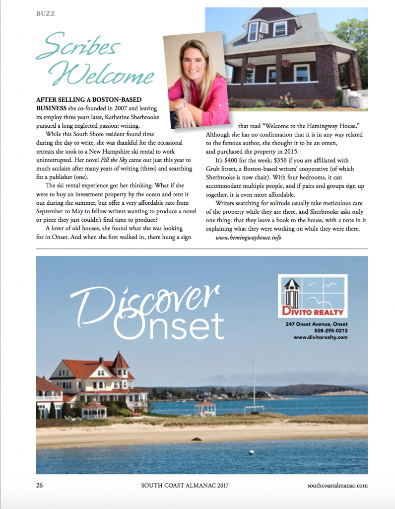 """""""Scribes Welcome."""" May 2017 South Coast Almanac"""