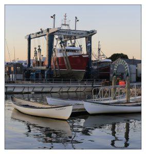 Azorean whaleboats
